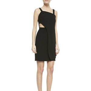 Opening Ceremony Theroux Layered Dress in black